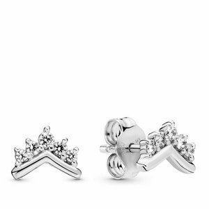 Pandora Jewelry - Authentic Pandora #298274CZ Tiara Wishbone Earring